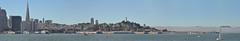 San Francisco Skyline Panorama (Images by John 'K') Tags: sanfrancisco california panorama navy airshow sanfranciscobay usnavy stitched fleetweek johnk ssjeremiahobrien d5000 johnkrzesinski randomok