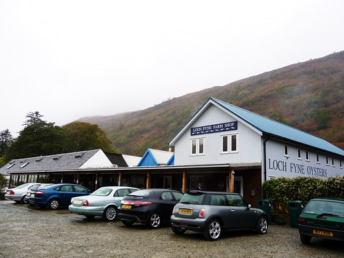View of Loch Fyne Oyster Bar