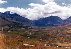 Cordillera Blanca Valley (Scott Holcomb) Tags: peru trek 35mm negative andes cordillerablanca yashicaelectro35cc olleros chavn photoshoprestoration hpscanjet5470c coloryashinondx118f35mmlens