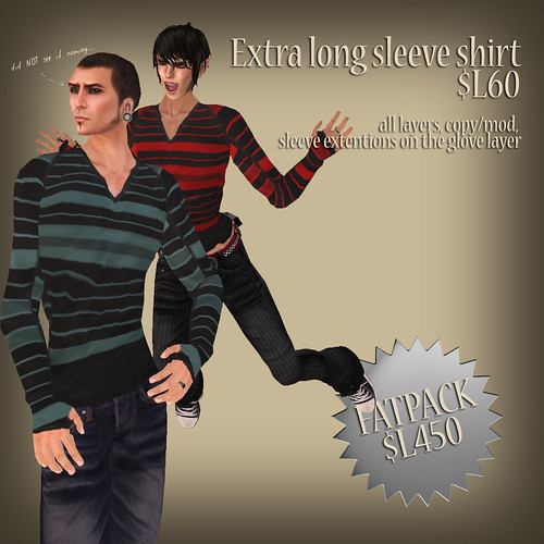 A:S:S - Extra long sleeve shirt