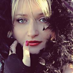 L'ultima dei Romanov (monyart) Tags: friends light shadow red portrait woman sun cute colors girl beautiful amsterdam contrast hair eyes sara hand lips girlpower lovely monyart