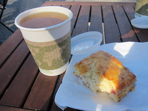 Swisscuit & Hot Apple Cider