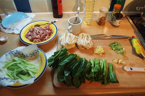 Sichuan fish flavoured ingredients