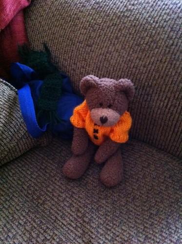 Teddy chillin'