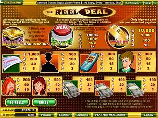 free Reel Deal slot mini symbol