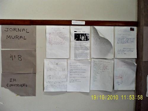Mural da Classe (19/10/2010)
