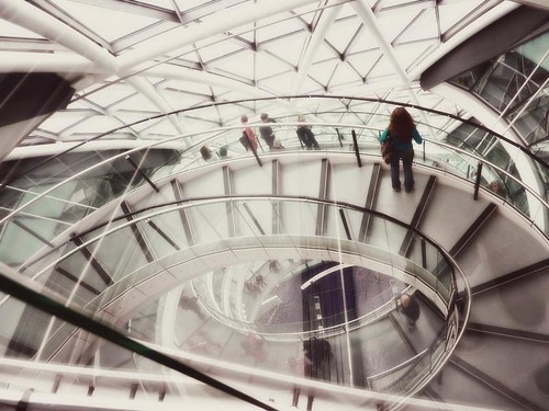 Inside London City Hall ~ Helical Staircase