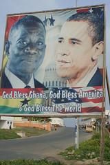 They love Obama in Africa (7) (Karin.Lakeman) Tags: africa sign president billboard ghana mills obama bord capecoast barackobama barack atta obamania attamills johnattamills