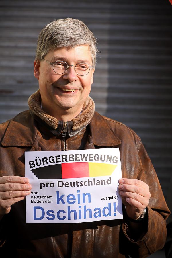 Pro Deutschland Mahnwache 13