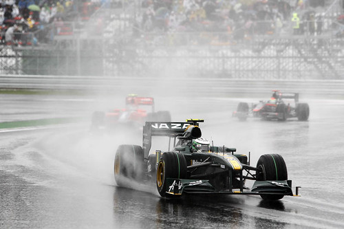 Heikki in the spray