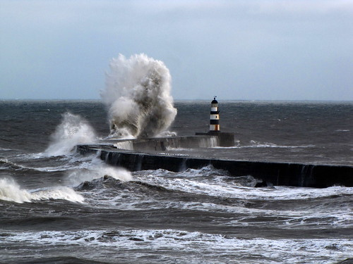 Stormy Seaham.