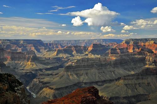 [フリー画像] 自然・風景, 谷, 岩山, アメリカ合衆国, アリゾナ州, グランド・キャニオン, 201010271300