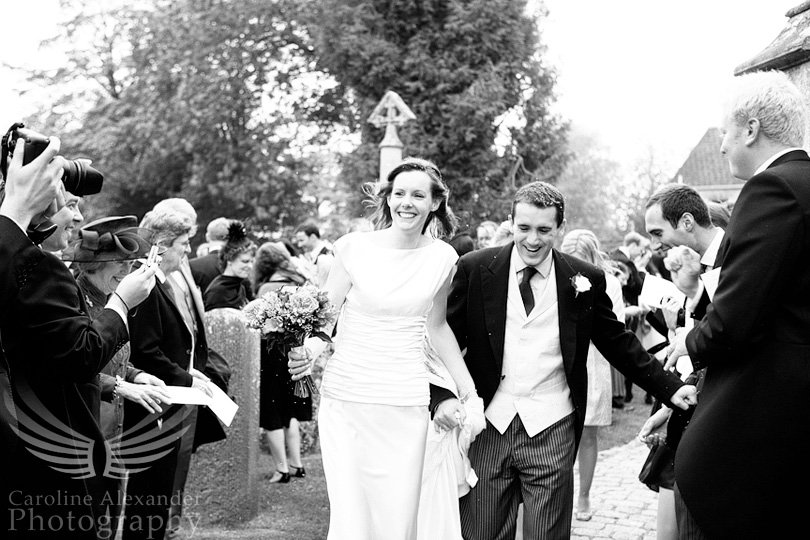Witshire Wedding Photography confetti 25