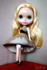 Blythe, Dress with lining