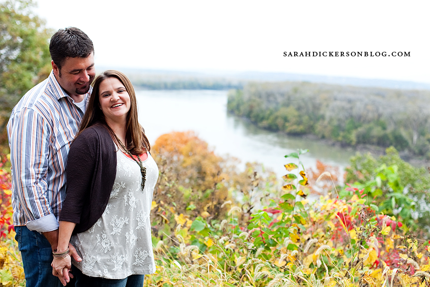 Atchison, Kansas engagement photos