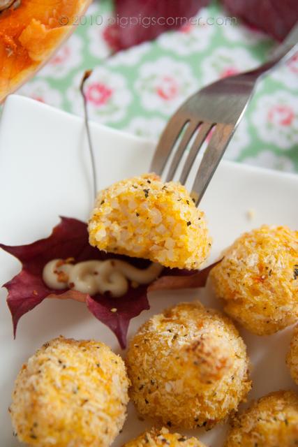 Butternut Squash Rice Balls 1