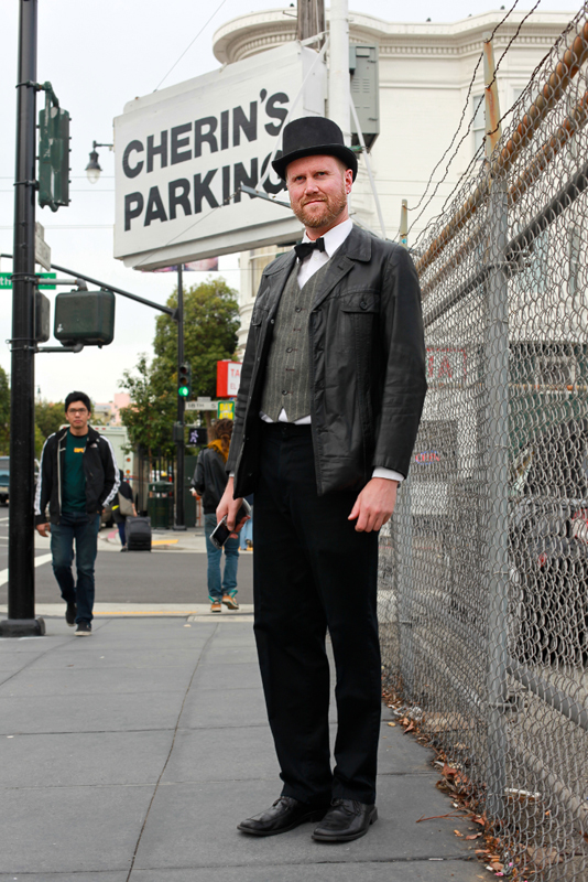 tophat - san francisco street fashion style