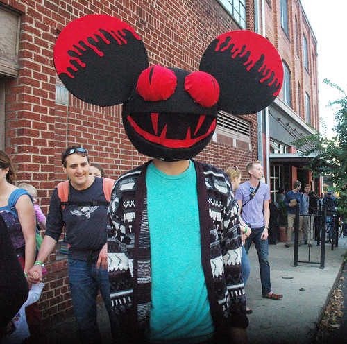 On the streets of Ashvegas: Moogfest party-goer