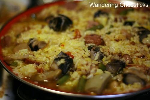 Paella Valenciana (Spanish Valencian Pan Rice) 13