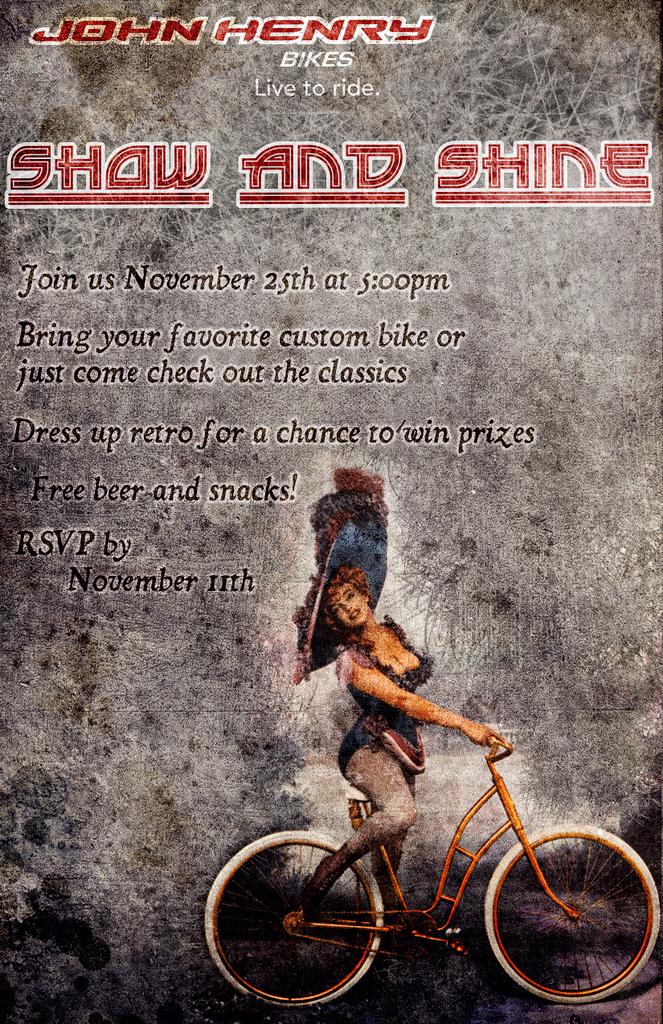 John Henry Bikes 2010 Show & Shine
