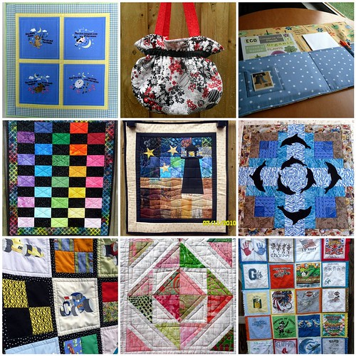 Quilting Diva's Entries for Project QUILTING - Season 1