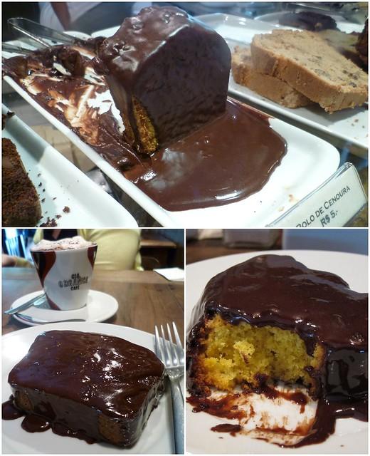O melhor bolo de cenoura!