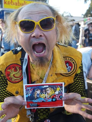 Could it be Peelander Yellow  at Fun Fun Fun Fest?