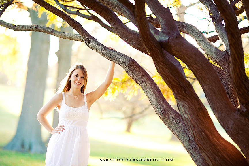 Briarcliff Village senior portrait photos, Kansas City