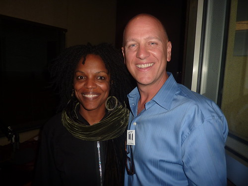 Nnenna Freelon and Vince Outlaw After The Jazz Live San Diego Interview