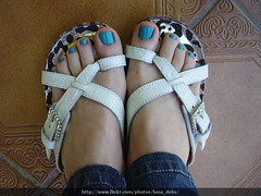Mabi (Hits) (Luna (Debs)) Tags: blue feet azul ps hits nailpolish mabi esmalte coleotititi