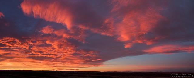 Panorama - Calgary Sunrise 02