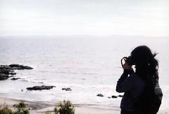. (Yaris) Tags: chile sea portrait film girl kodak sur zenit zenit122 parquedelota