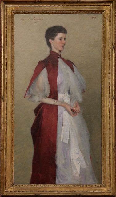 Portrait of Mrs Robert Harrison, John Singer Sargent, 1886