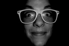 (Guly_Julien) Tags: portrait blackandwhite nerd me myself glasses io bianco ritratto nero occhiali smorfie