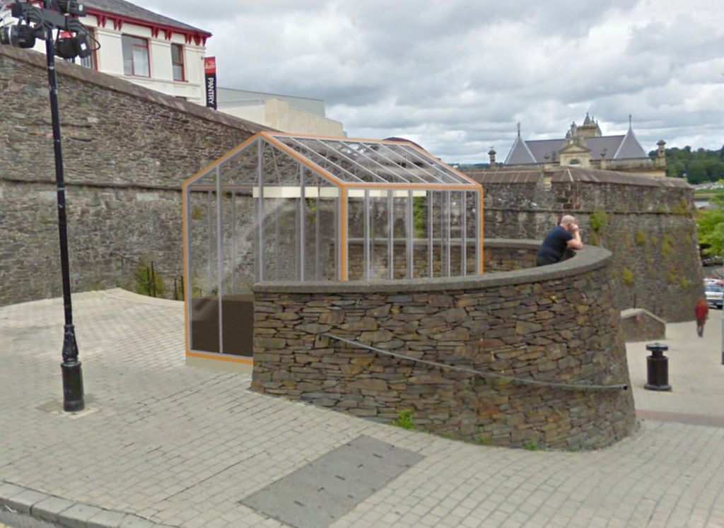 Proposal - six glass houses for Derry/Londonderry