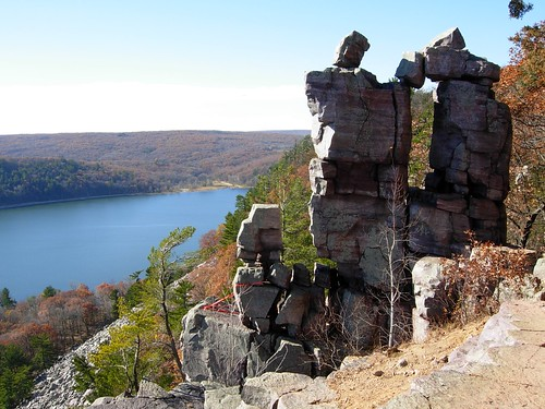 Devil's door in Devil's Lake, WI