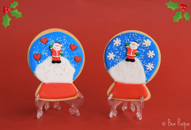 GALLETAS DECORADAS (SNOWGLOBES)