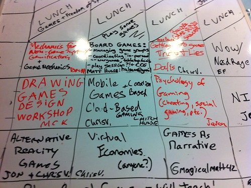 GameCamp Boulder schedule