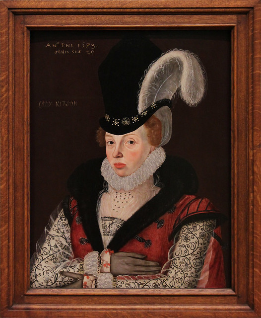 Lady Kytson, George Gower, 1573