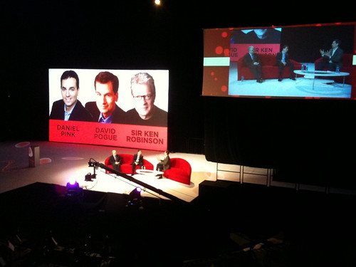 Dan Pink, David Pogue, Sir Ken Robinson