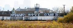Amuse126 Mole Dabs (EMENFUCKOS) Tags: chicago de graffiti mole mul abk dabs amuse amuse126 dabsde