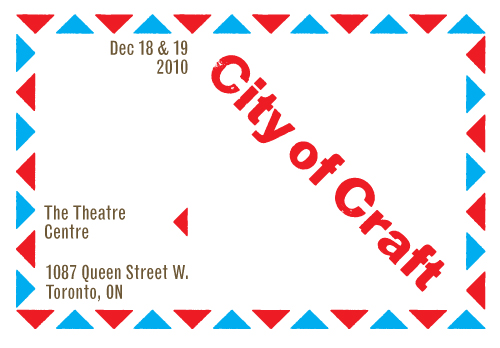 City of Craft 2010 flyer