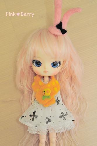 羊毛氈-圍巾試作 (3)