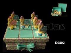 D0802 (VISA.FESTAS) Tags: primavera biscuit caixa jardim presente tecido caracois lembrancinha caramujos jogodavelha jgvelha