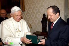 "president Masoud Barzani visited the Vatican Pope Benedict XVI   The Holy Father (Kurdistan Photo كوردستان) Tags: new love landscape foto photos jan awesome iraq picture international photograph piran kurdistan kurdish barzani kurd kurds kurdi amed blueribbonwinner kurden kurde slemani abigfave platinumphoto cameradeourobrasil impressedbeauty kurdistani kurdiskaa kuristani kurdistan4all peshmargaorpeshmergeپێشمهرگهkurdistan كردستان kurdishflower kurdistan2all kurd4ever kurdistan4ever kurdistan3d karkuk kurdphotography kurdpopular كوردستان kurdistan4allكوردستان kordistan goldstaraward flickrestrellas kurdene removedfromadobelightroomfortags kurdistan2008 ®travelandscapes rubyphotographer sefti ""nikonflickraward"" goldenheartaward kurdistan2006 kurdistan2009 kurdistanflowers msefti herêmakurdistanê derbotke kurdskurdakurdikurdshkurdishiraqiraqiirakiraki"