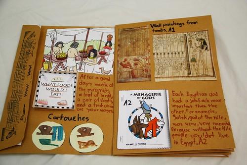 egypt notebook inside 1