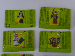 Series 3 Minifigures Code 2