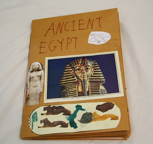 egypt notebook cover