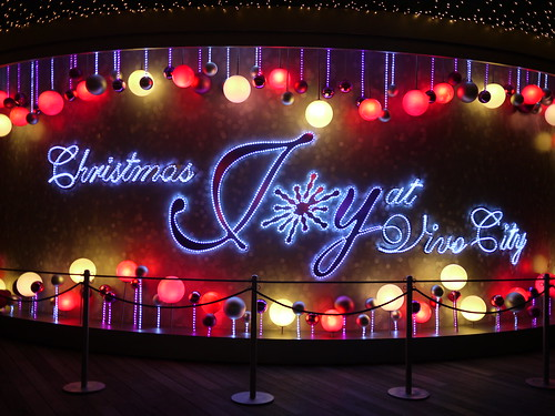 Christmas Joy at Vivo City