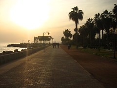 mersin in the evening